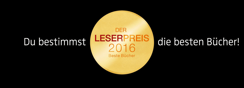 Leserpreis 2016 von LovelyBooks